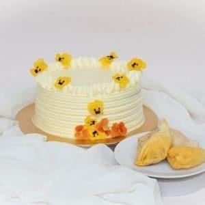 Vegan Durian Cake