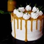 Vegan Pandan Kaya Cake