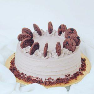 Vegan Chipsmore Cookie Cake