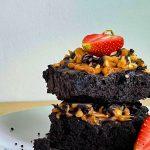 Vegan Peanut Butter Choc Brownie (12 Pieces)