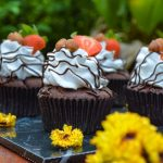 Vegan Hazelnut Choc Cupcake