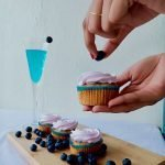 Vegan Blueberry Cupcake