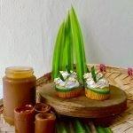 Vegan Pandan Kaya Cupcake