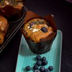 Vegan Blueberry Oat Muffin