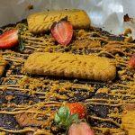 Vegan Lotus Speculoos Brownies