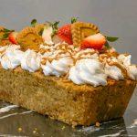 Vegan Lotus Biscoff Carrot Cake